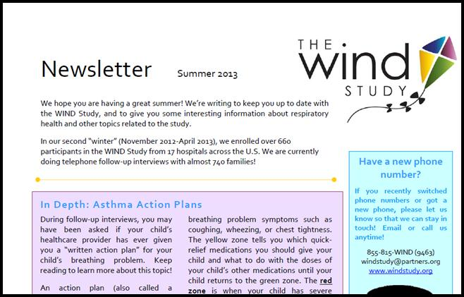 WIND Newsletter