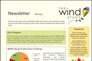WIND Newsletter Fall 2013