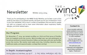 WIND Newsletter Winter 2013