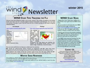 WIND Study Winter 2015 Newsletter